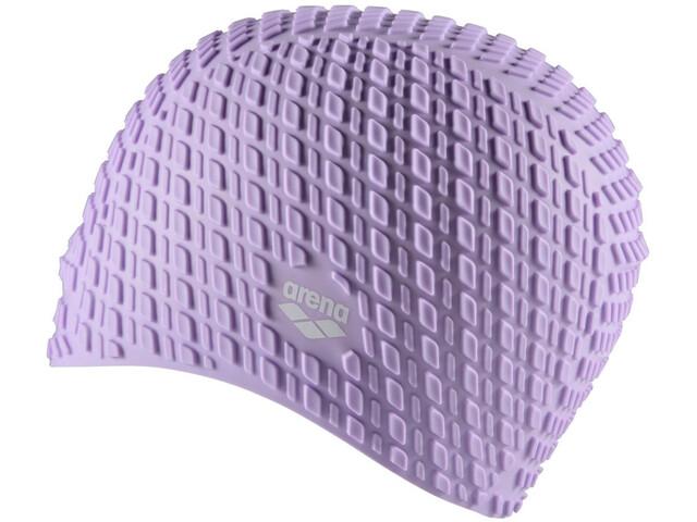 arena Bonnet Silicone Bonnet de bain, light violet